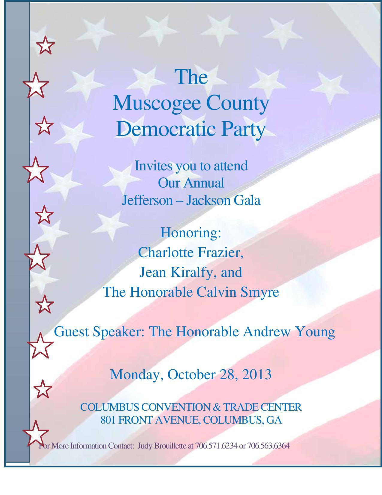 EVENT: Jefferson-Jackson Gala 2013