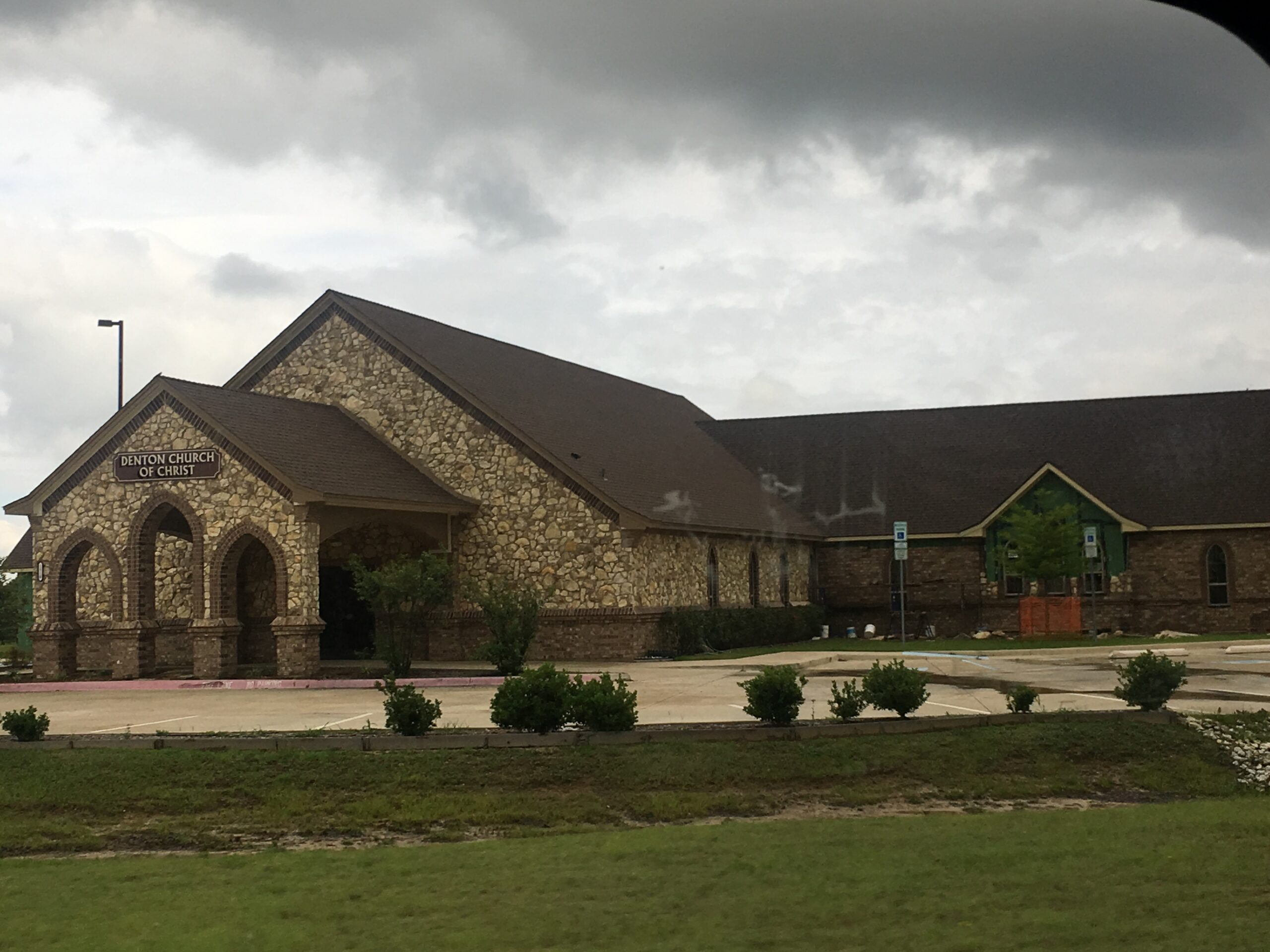 commercial new build church