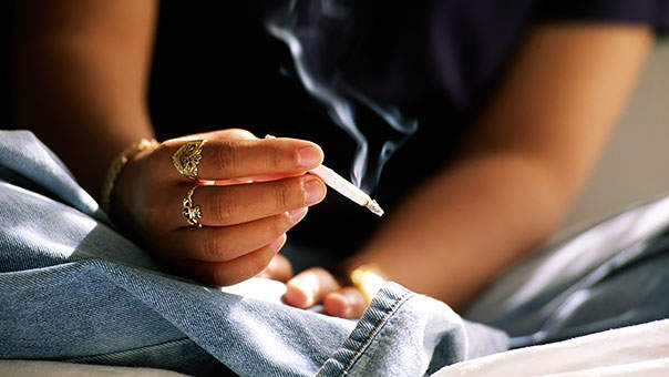Marijuana use in a care giving role