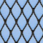 Diamond Shaped Knotless Netting