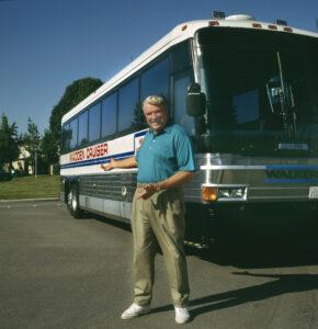 John Madden image bus