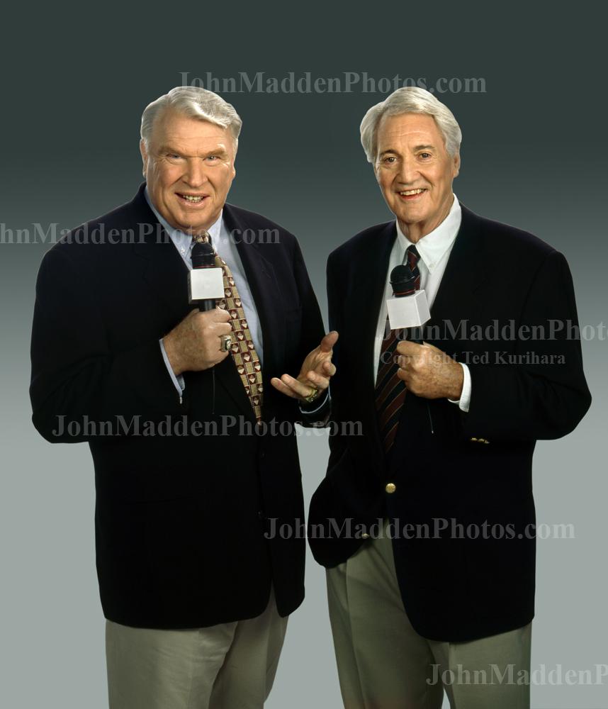 John Madden and Pat Summerall