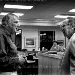 John Madden with Al Davis