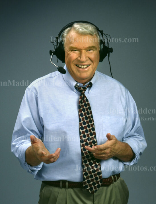 John Madden stock photos