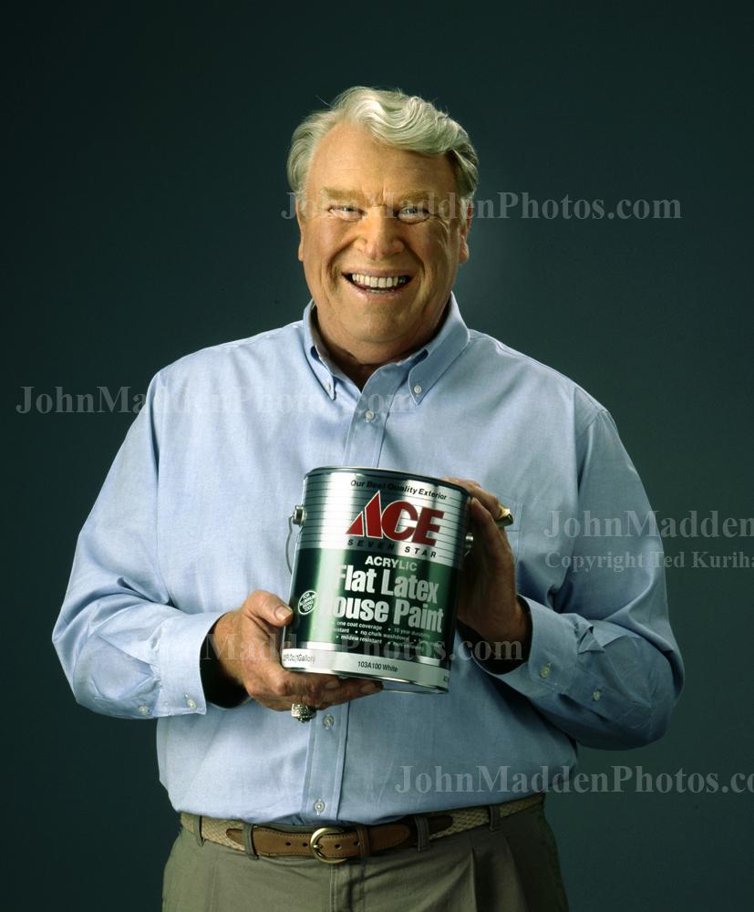 John Madden stock photos