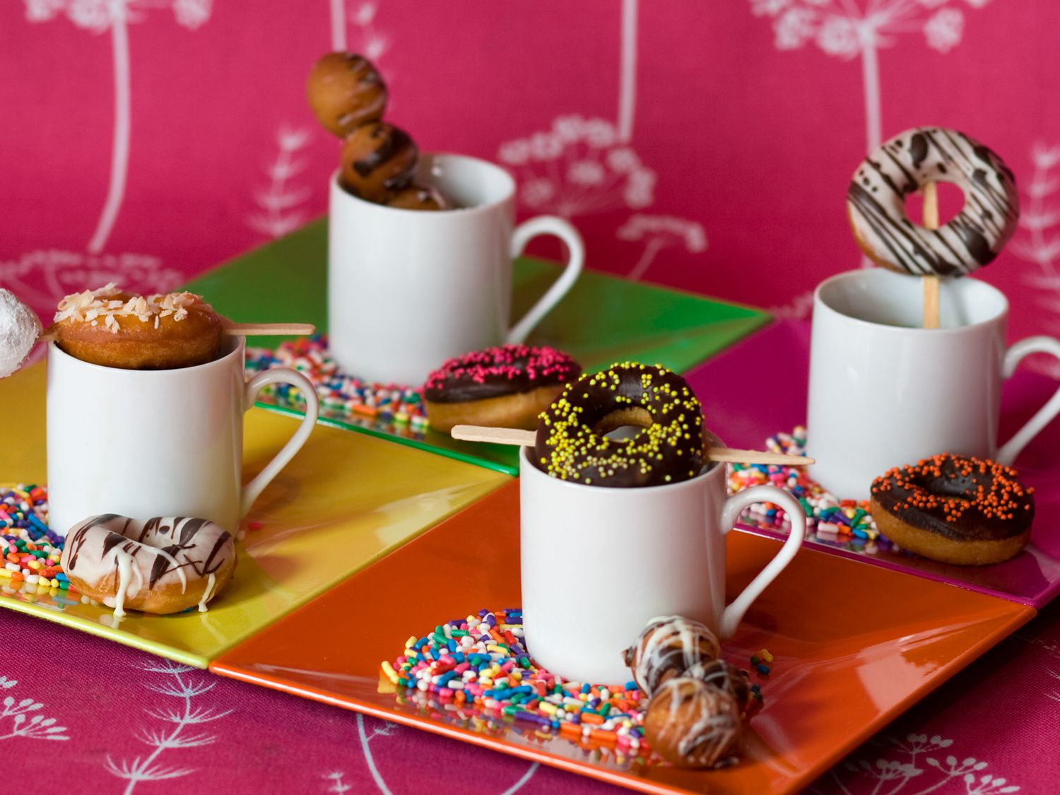 Mitzvah Catering Donut and Candy Theme