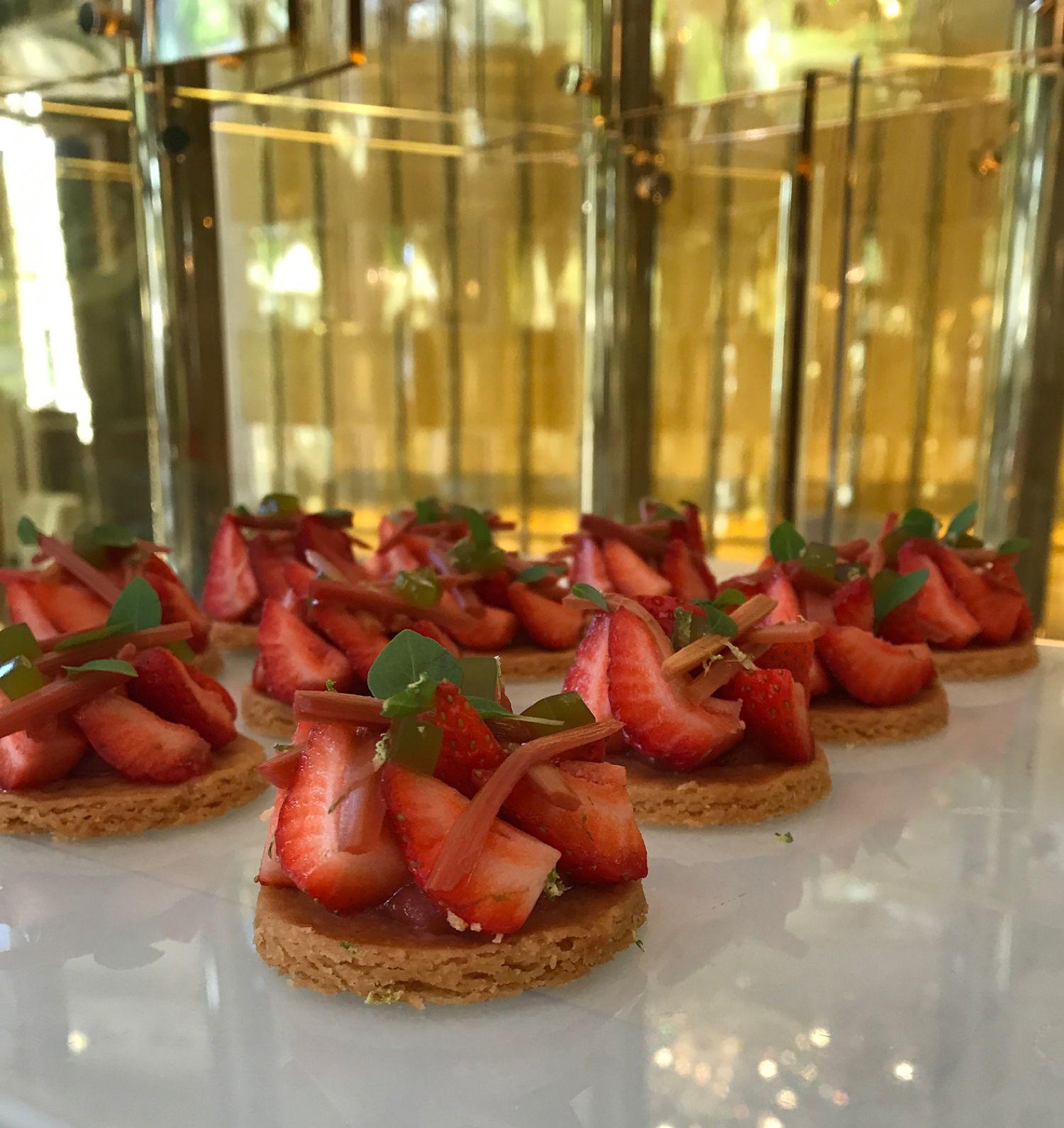 Mitzvah Catering Strawberry Bites