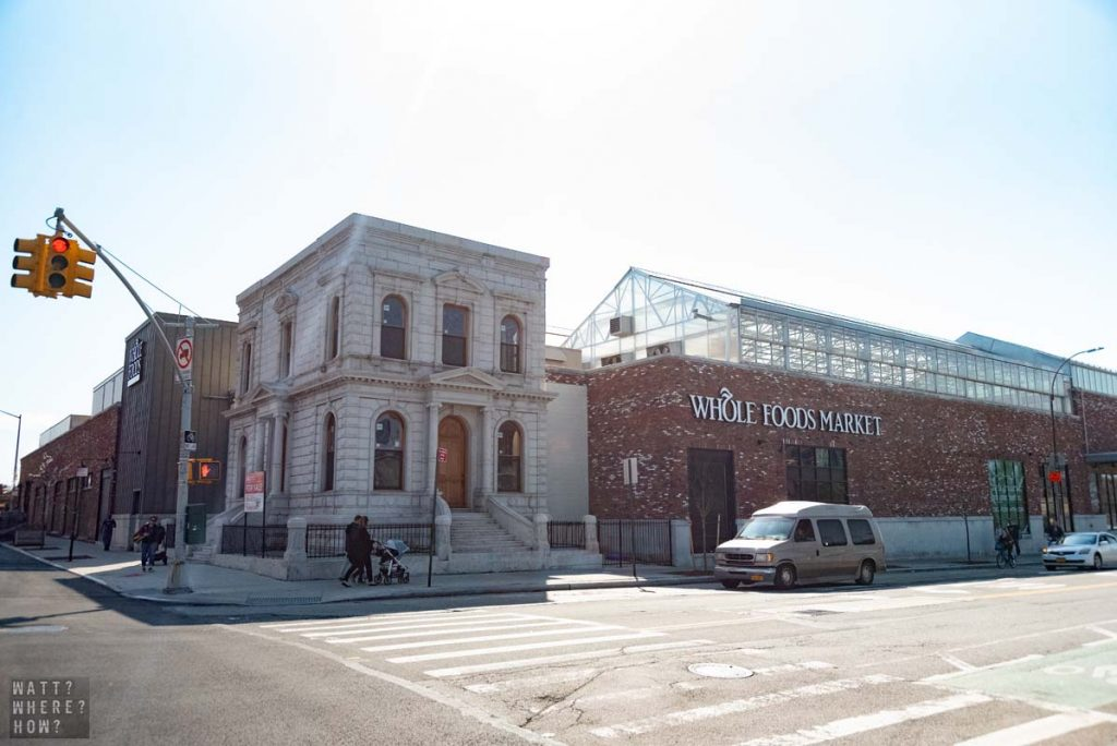 The Whole Foods at Carroll Gardens is responsible for renovating the neighboring Coignet Building.