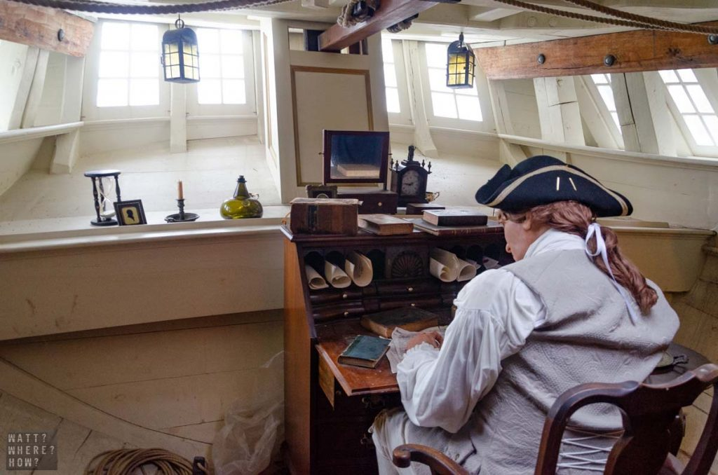 The Boston Tea Party Museum brings to life the moments that led up to the revolution.
