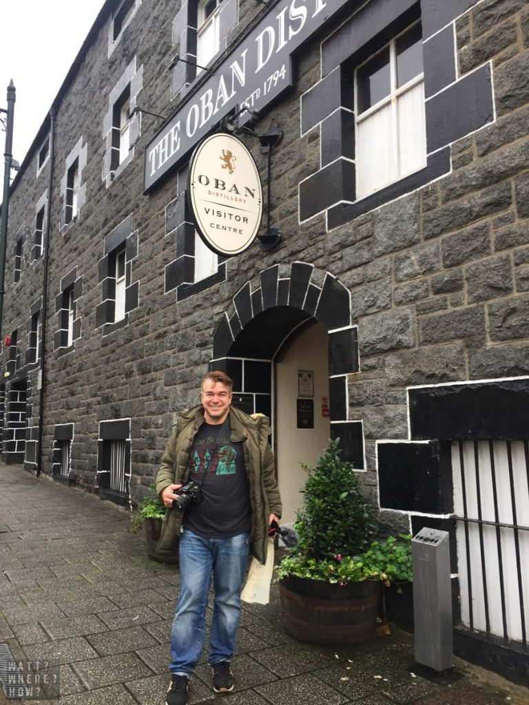 The Oban Distillery was ranked top of the things to do in Oban list by Bernie
