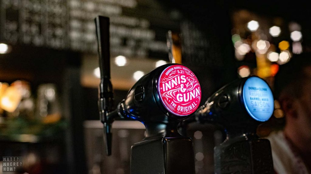 Innis and Gunn tastes best right from its source.