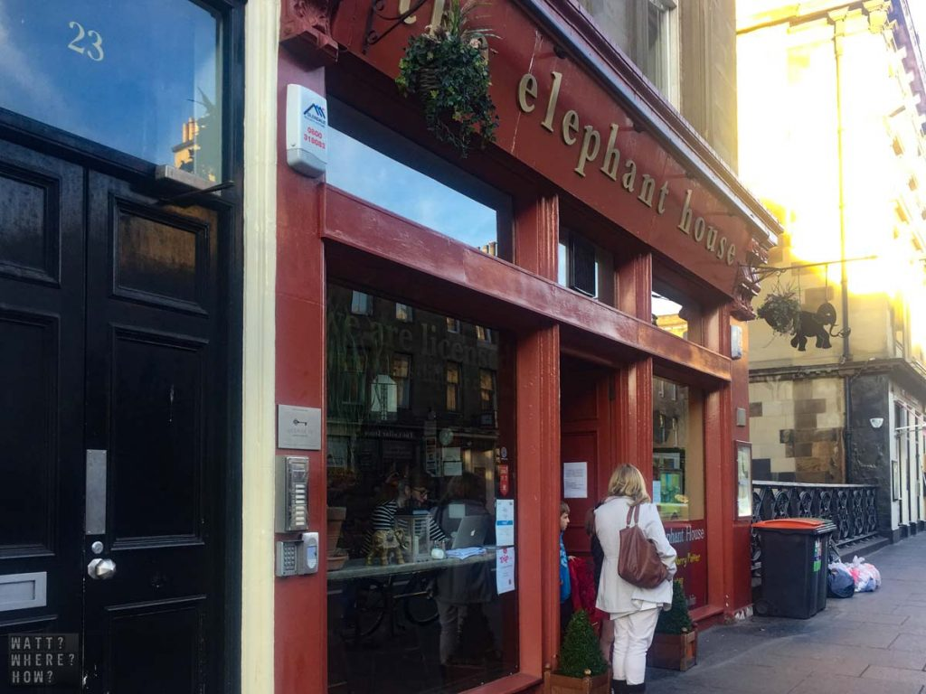 As part of any Harry Potter Road Trip, you have to stop in for a cup of tea at Edinburgh's The Elephant House.