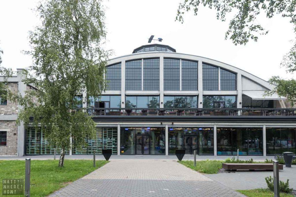The Lennusadam Seaplane Harbor Maritime Museum is Estonia's newest museum.