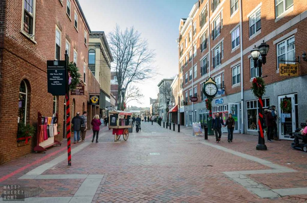 With just 32 minutes by train from Boston to Salem, you don't need to take a tour to experience Salem.