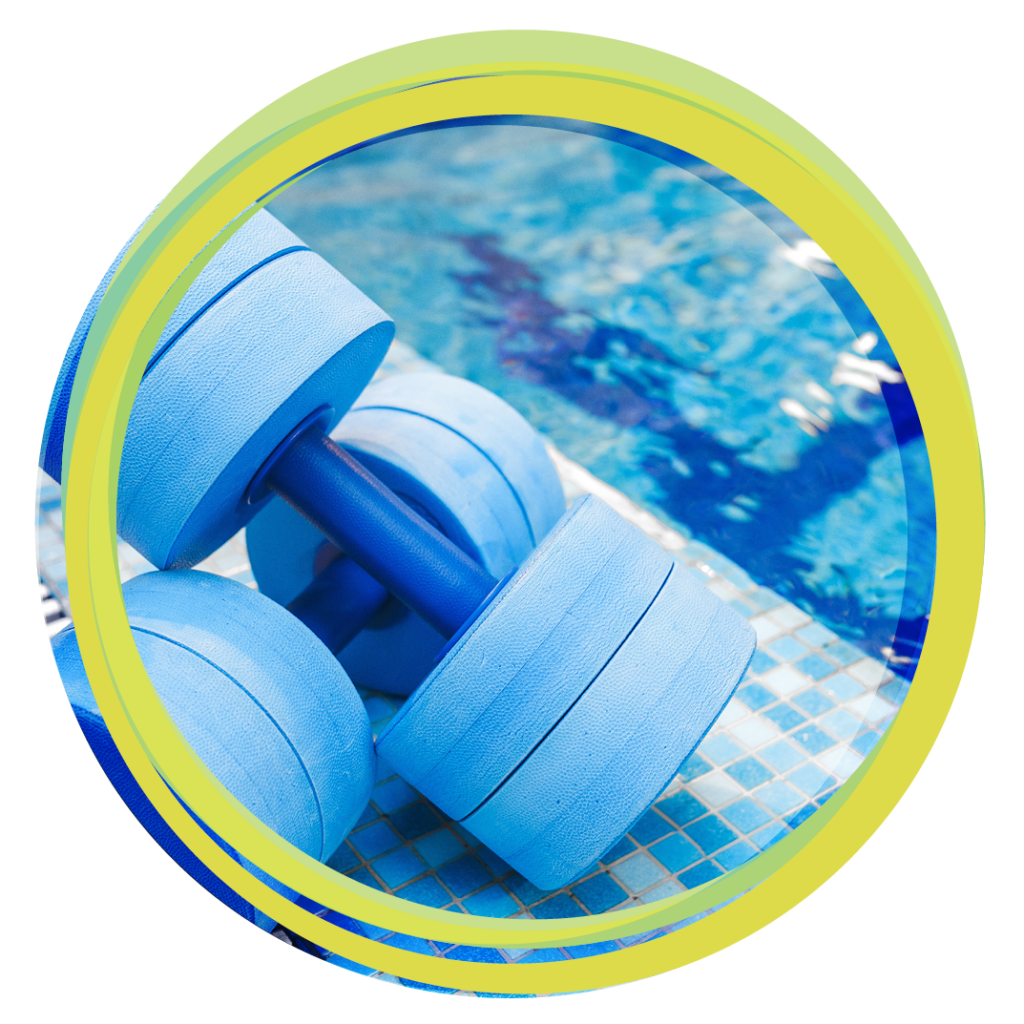 Aquatic dumbbells
