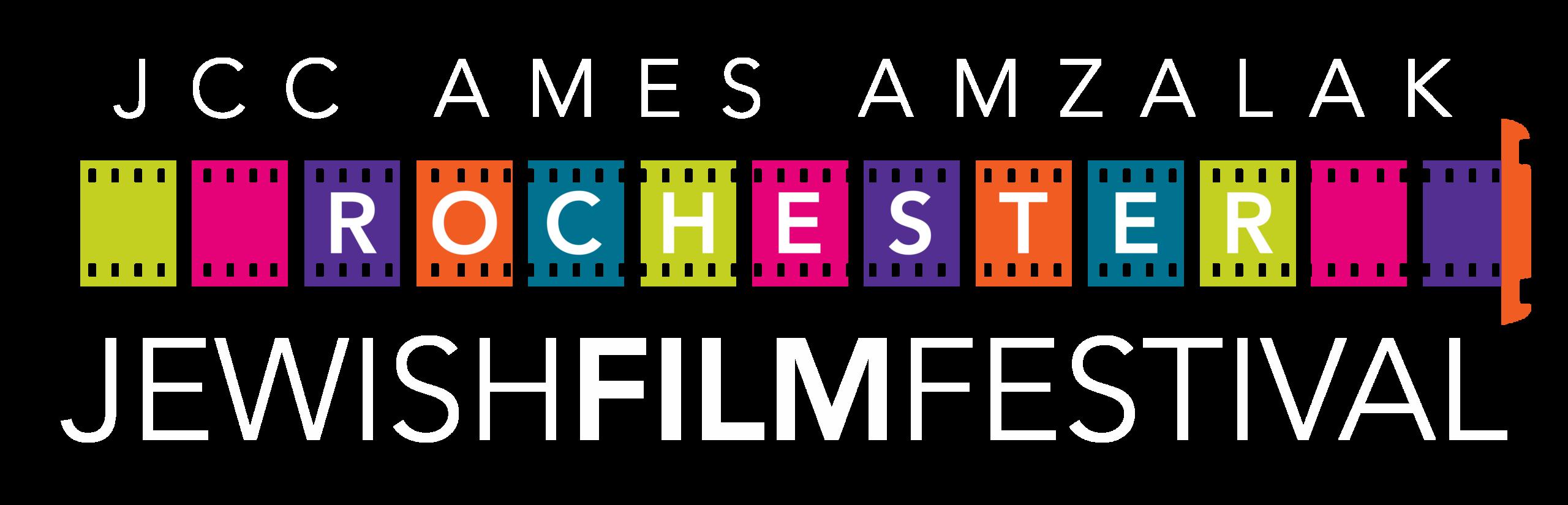 Rochester Jewish Film Festival LOGO WHITE