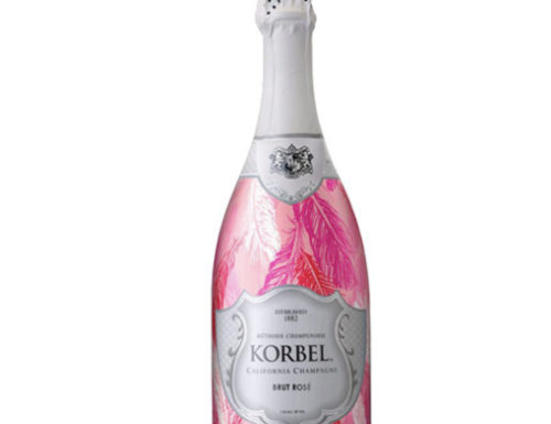 Korbel Lovebird Bottle Wrap
