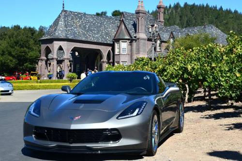 Corvette at Ledson