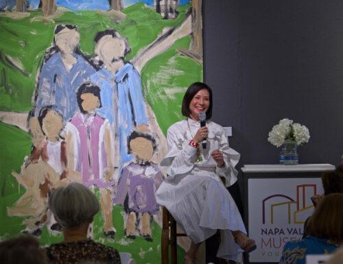 Lucy Liu at Phenomenal Women Luncheon