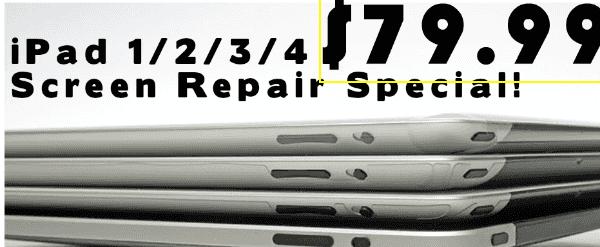 ipad screen repair dallas