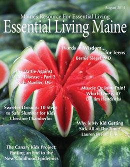 EssentialLivingMaine_August_Digital_2014_Cover_Yudu
