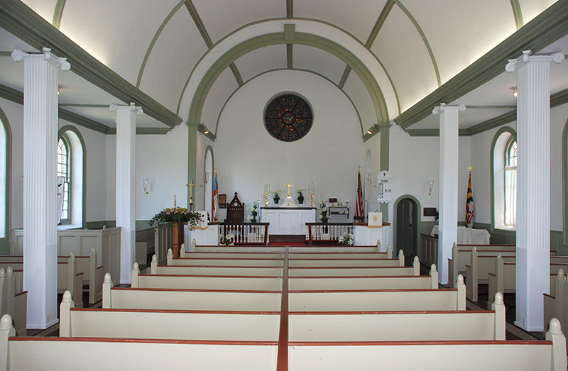 All Faith's Church, Charlotte Hall, MD