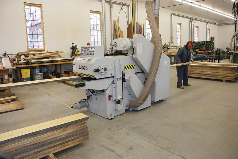 25-Inch Double- Sided Planer