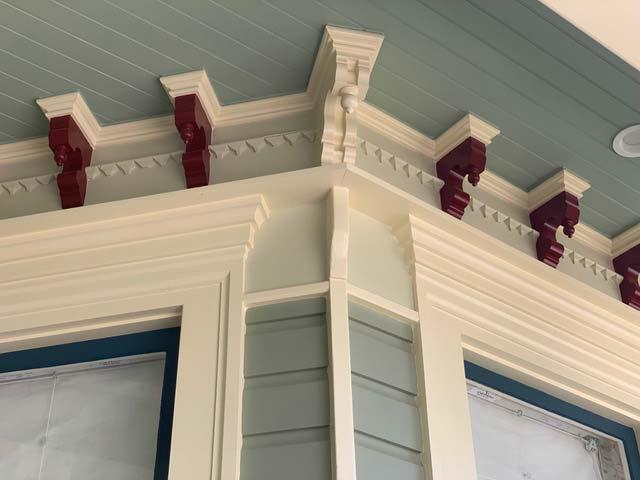 Architectural millwork corbels