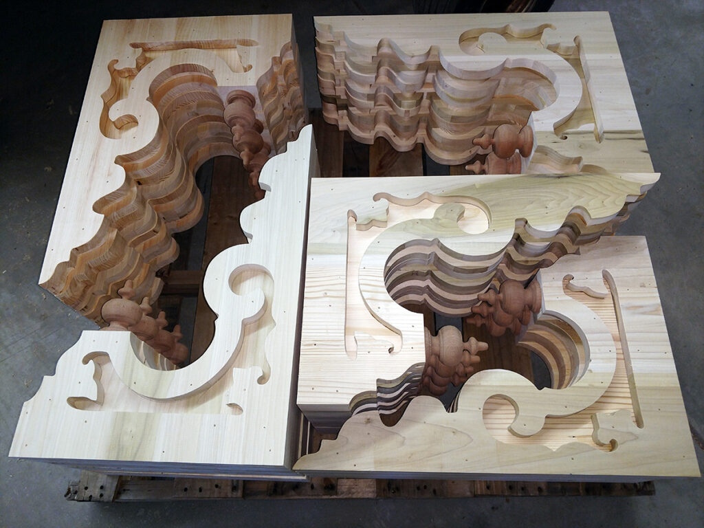 Exterior Victorian corbels brackets