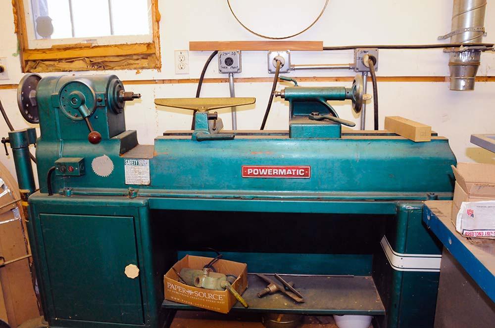 Powermatic Model 90 wood lathe