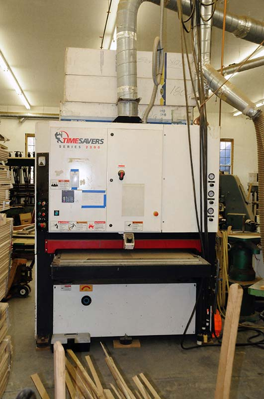 TimeSavers Series 2300 wide belt sander
