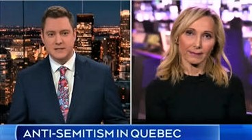 CTV News: Anti-Semitism in Quebec