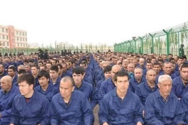 "A ""re-education camp"" in Xinjiang, China"