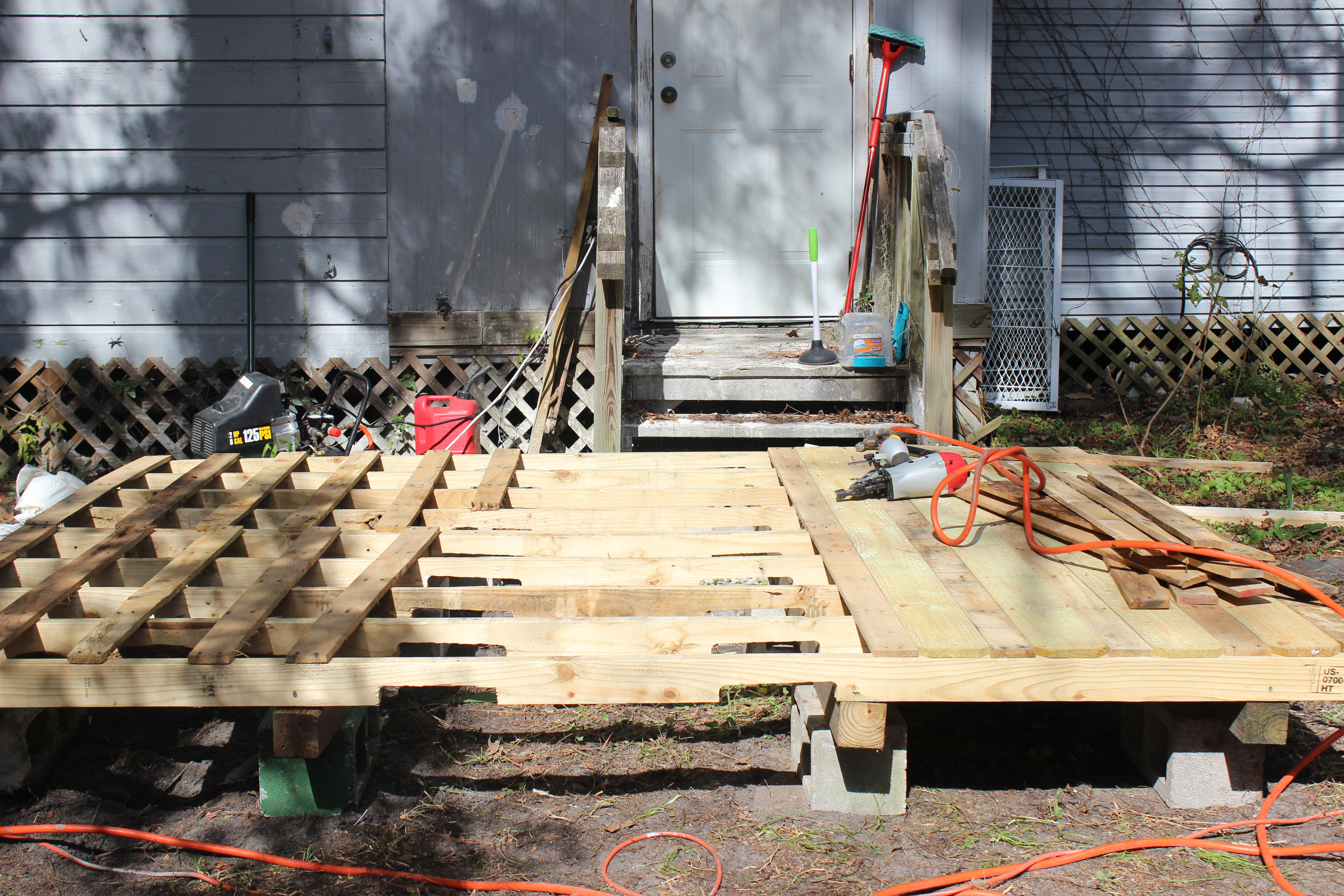 Step 10 Continue Installing Decking