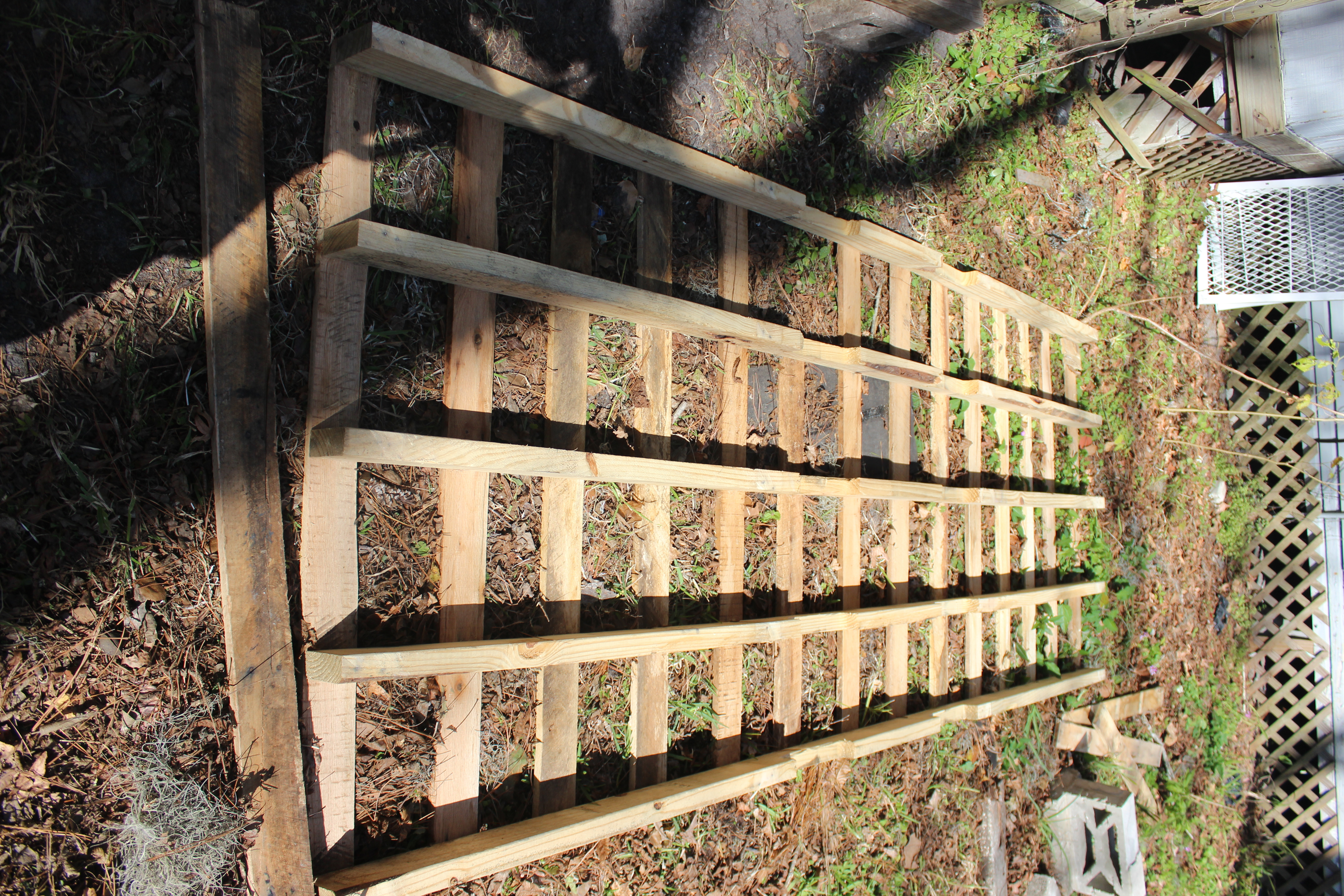 Step 3 Remove Bottom Pallet Deck