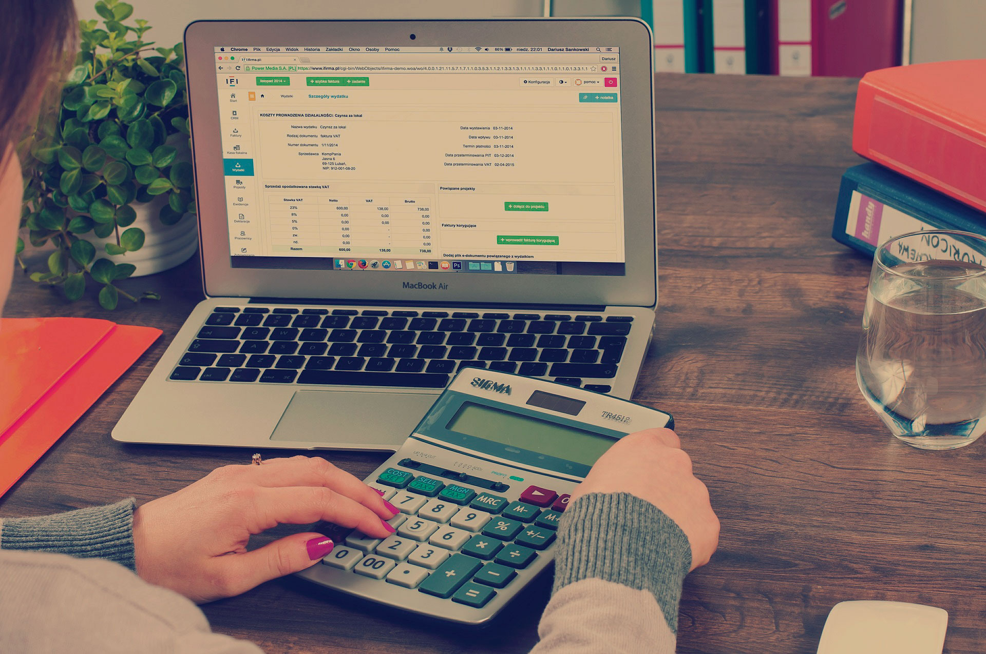 Blue-Bookkeeping