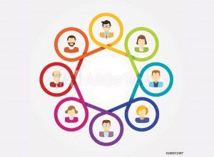 colorful membership graphic