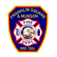 Franklin Square and Munson fire department logo