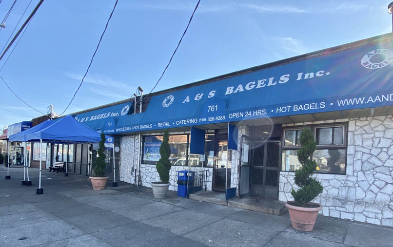 A & S Bagels, Inc. storefront