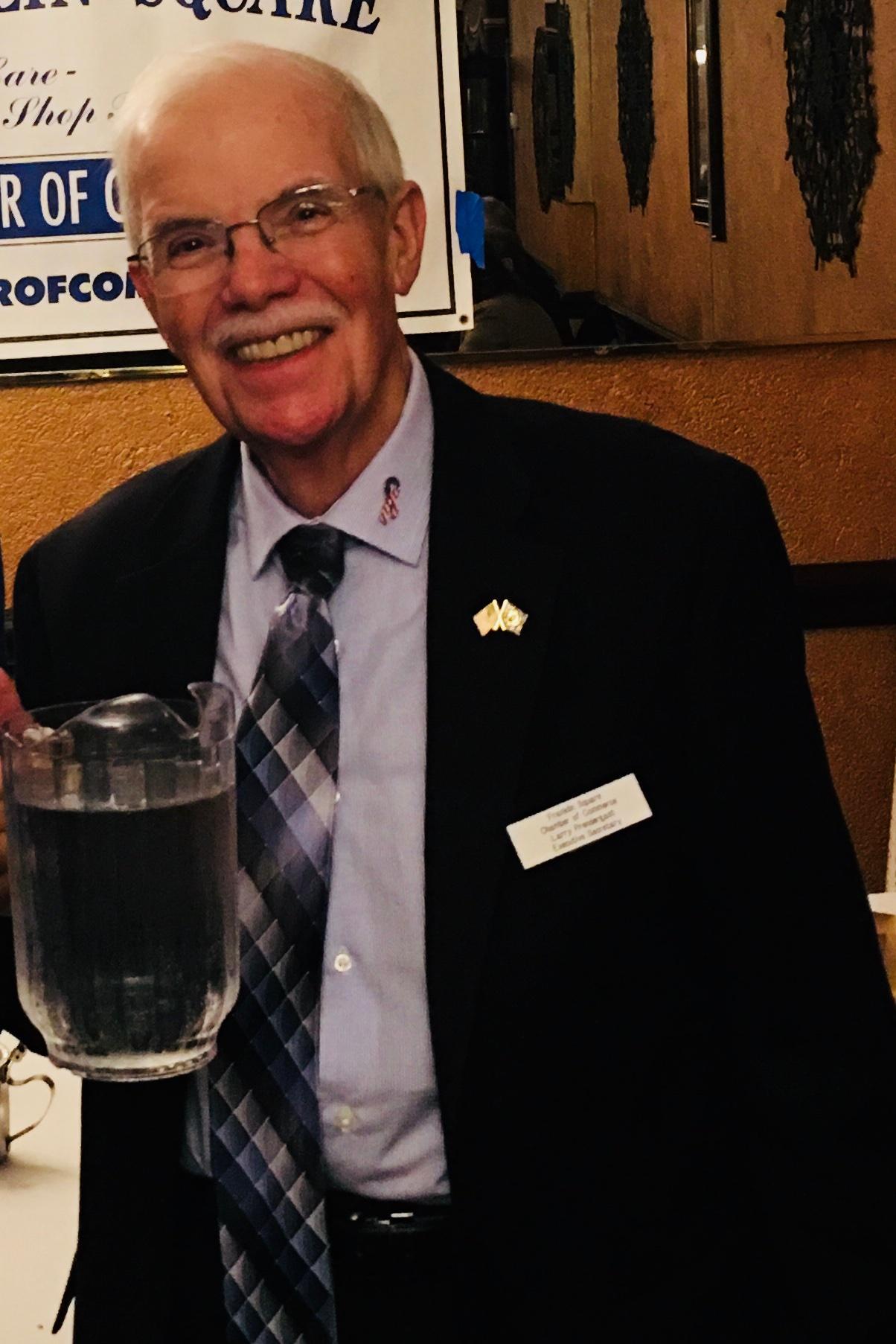Larry Prendergast at Filomena's Restaurant