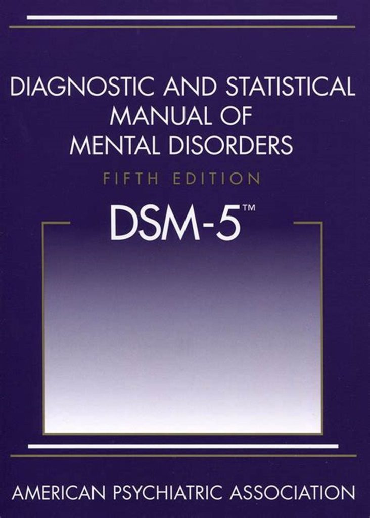 Image of DSM5 that diagnoses abuser narcissistic