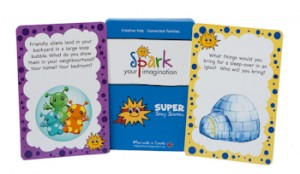 SUPER Story Starters - perfect for younger family members!