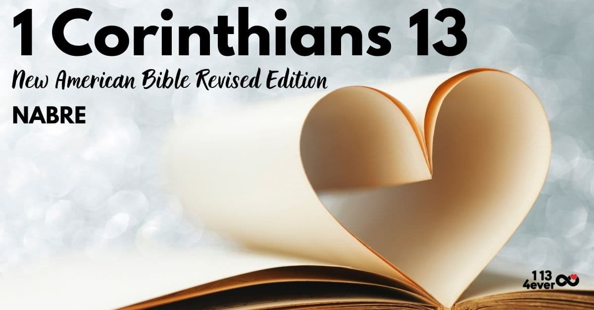 1 Corinthians 13 | New American Bible | Revised Edition | NABRE