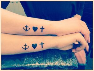 1 Corinthians 13 Couple Tattoo