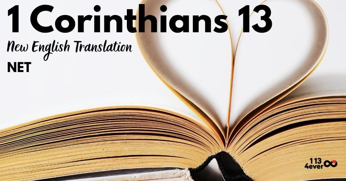 1 Corinthians 13 | New English Translation | NET