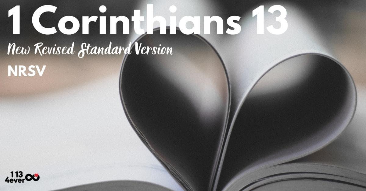 1 Corinthians 13 | New Revised Standard Version | NRSV