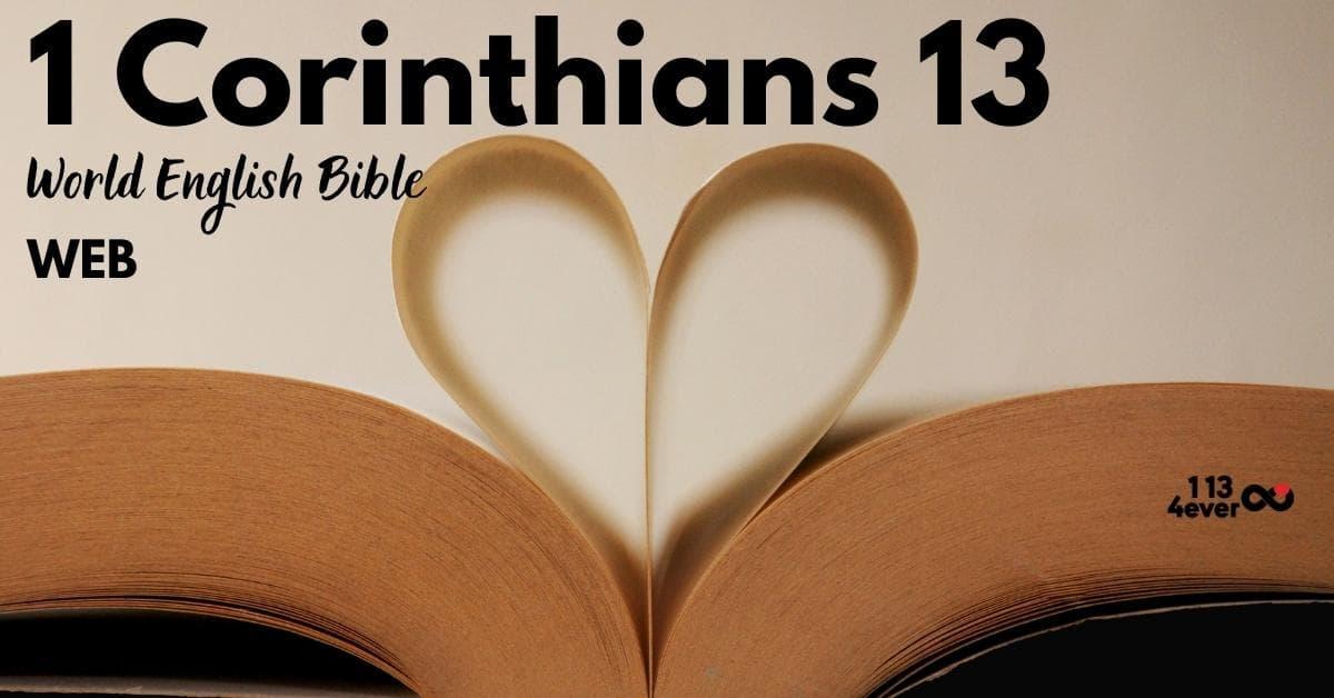 1 Corinthians 13 | World English | WEB