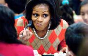 First Lady kidnaps Easter event to push food regulations