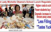 Students complain: 'First Lady messes up our lunches'