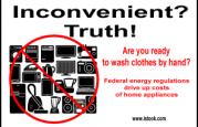 More manual labor! Regs raise prices of labor-saving appliances